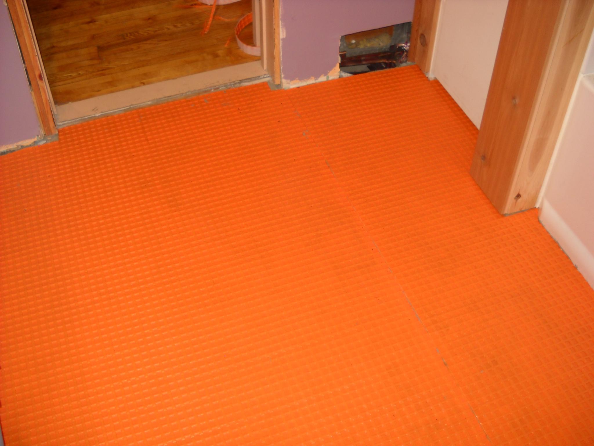 Bathroom Floor Underlayment For Tile : Bathroom remodel ? acrpc