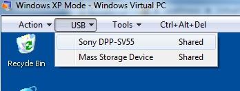 Sony dpp sv55