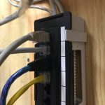 Patch panel in shop